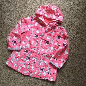 Adorable Carter's Doggy Raincoat